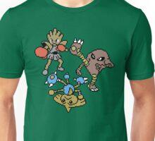 Hitmonchan, Hitmonlee and Hitmontop Unisex T-Shirt