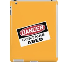 DANGER: Contains Abed iPad Case/Skin