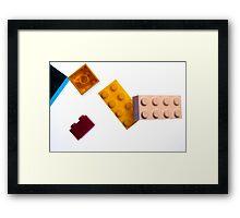 Lego top Framed Print
