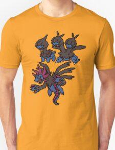 Deino, Zweilous and Hydriegon T-Shirt