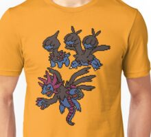 Deino, Zweilous and Hydriegon Unisex T-Shirt