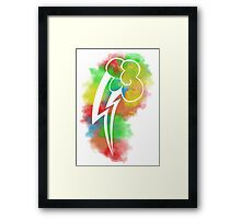 Rainbow Dash Poster Framed Print