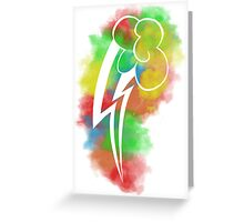 Rainbow Dash Poster Greeting Card