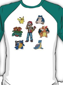 Red and his Team T-Shirt