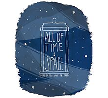 All Of Time and Space Photographic Print