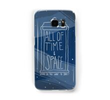 All Of Time and Space Samsung Galaxy Case/Skin