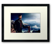 OUAT in Camelot - Captain Hook  Framed Print