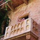 Juliet's Balcony in Verona by lezvee
