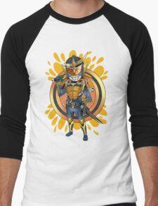 Orange Squash Men's Baseball ¾ T-Shirt