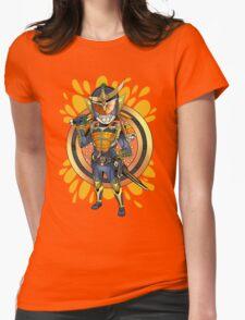 Orange Squash Womens Fitted T-Shirt