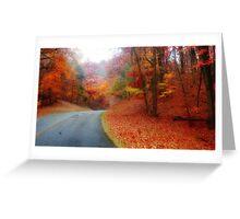 Fall on the Blue Ridge 3 Greeting Card
