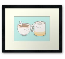 coffee, tea.. everything is fine by me! Framed Print
