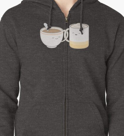 coffee, tea.. everything is fine by me! Zipped Hoodie