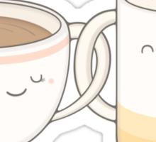 coffee, tea.. everything is fine by me! Sticker