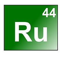 Ruthenium - Ru44 by Atomic5