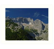 Zugspitze - Germany's Highest Mountain Art Print
