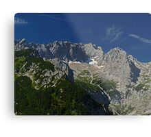 Zugspitze - Germany's Highest Mountain Metal Print