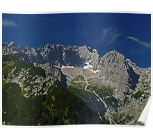 Zugspitze - Germany's Highest Mountain Poster
