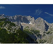 Zugspitze - Germany's Highest Mountain Photographic Print