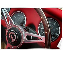 Daimler Steering Wheel Poster