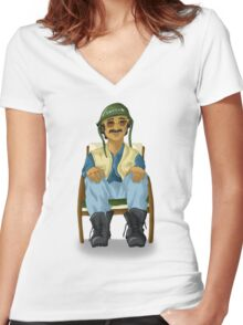 Shogun from the Movie Boy Women's Fitted V-Neck T-Shirt