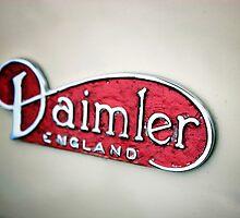 Daimler Classic Car Logo by Matt Keil