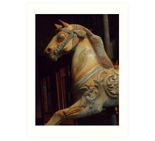 The Dark Horse Mourns Art Print