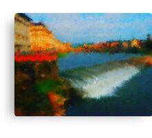 Firenze  bridges Canvas Print