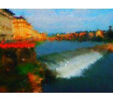 Firenze  bridges Photographic Print