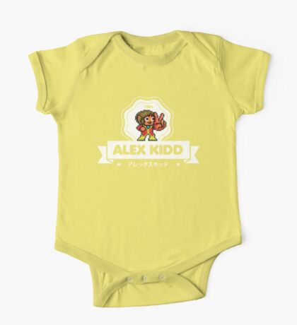Alex Kidd One Piece - Short Sleeve