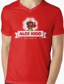 Alex Kidd Mens V-Neck T-Shirt