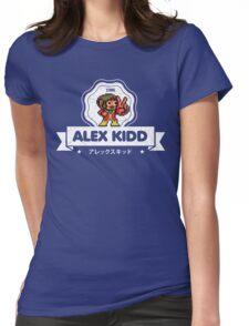 Alex Kidd Womens Fitted T-Shirt