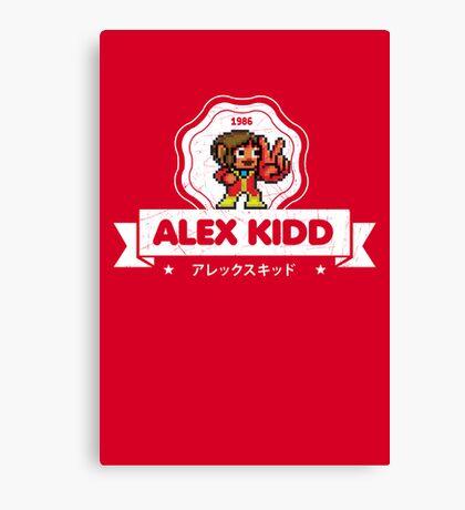 Alex Kidd Canvas Print