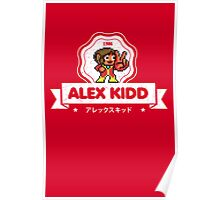 Alex Kidd Poster