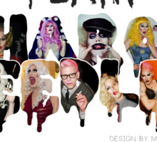 "The ""Team Sharon Needles"" ! Sticker"