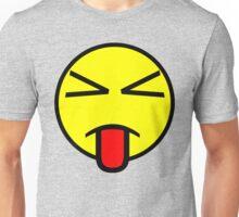 Sass Face Emoticon Unisex T-Shirt