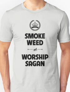 Smoke Weed - Worship Sagan T-Shirt