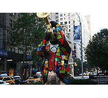 Louis Armstrong Statue NY Photographic Print