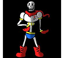 Undertale The Great Papyrus Photographic Print