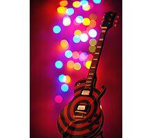Guitar Bokeh Photographic Print