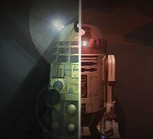 R2-Dalek by Mitchell McCaffrey