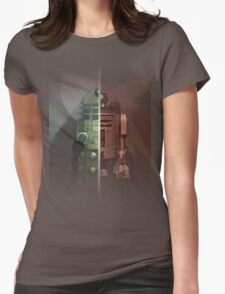 R2-Dalek Womens Fitted T-Shirt