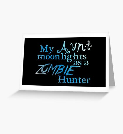 Zombie Aunt Boy Greeting Card