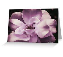 Smooth AF Flower Greeting Card