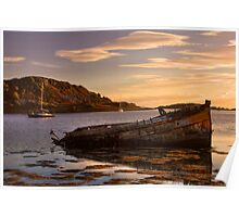 Sunken Gold on Loch Craignish Poster