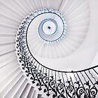 The Tulip Staircase by Marzena Grabczynska Lorenc