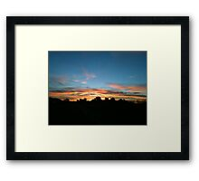 Pacific Coast Highway at 5:30 a.m. Framed Print