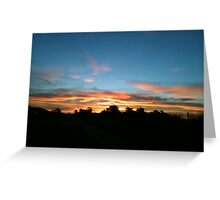 Pacific Coast Highway at 5:30 a.m. Greeting Card