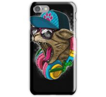 Cool And wild Cat iPhone Case/Skin
