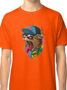 Cool And wild Cat Classic T-Shirt